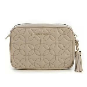 Michael Kors Quilted Floral Crossbody Bag